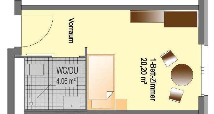 Visualisierung Einzelappartment Soest In NRW