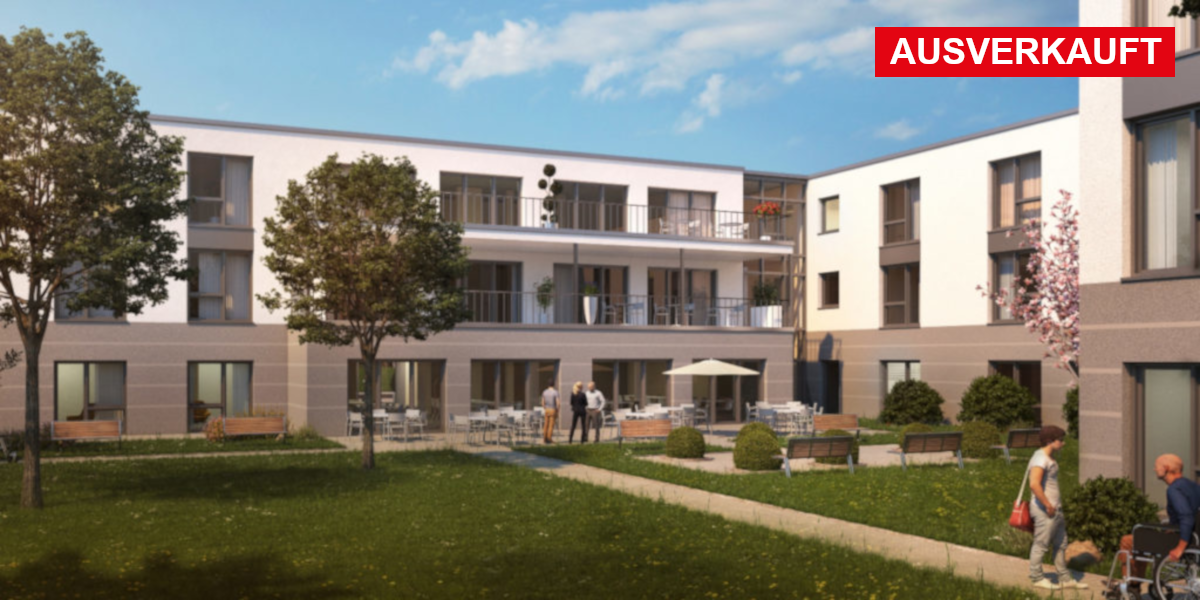 Visualisierung Pflegeimmobilie Herzberg