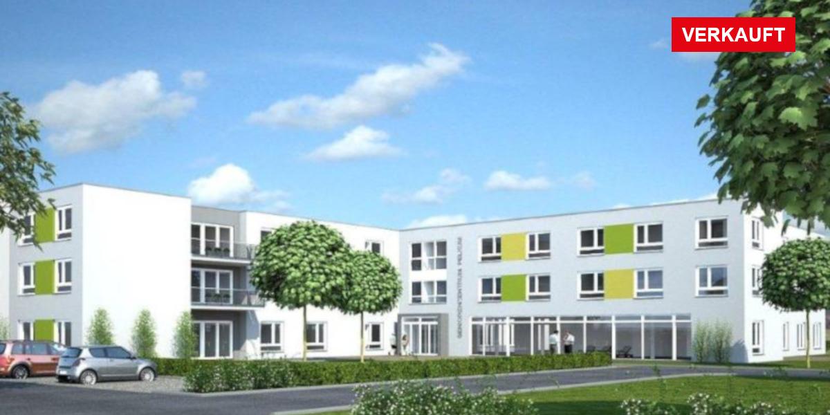 Visualisierung Pflegeimmobilie Hamm