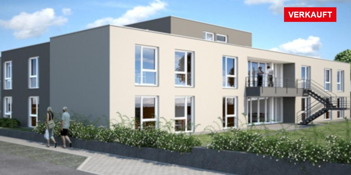 Visualisierung Pflegeimmobilie Thüngersheim bei Würzburg
