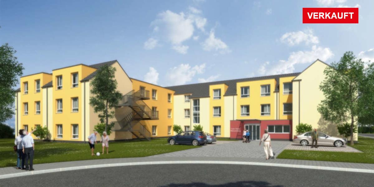 Visualisierung Pflegeimmobilie Münzenberg bei Gießen