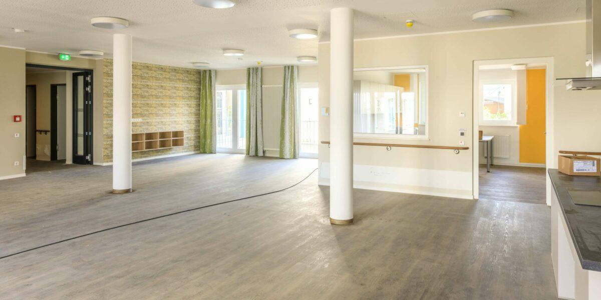 Pflegeimmobilie Sennfeld Gemeinschaftsraum