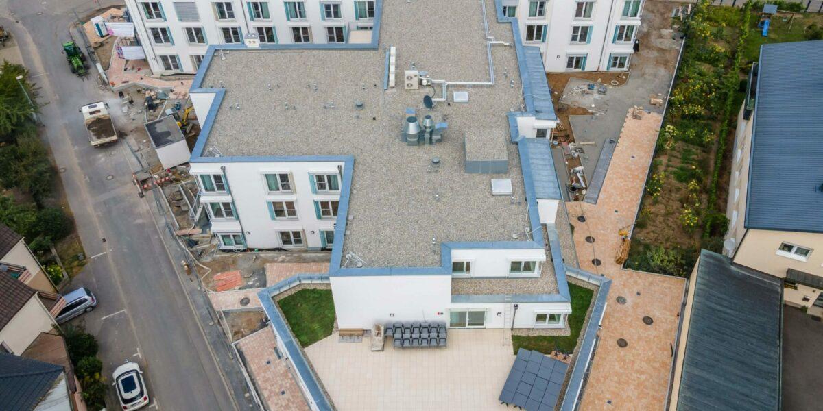 Pflegeimmobilie Sennfeld Von Oben