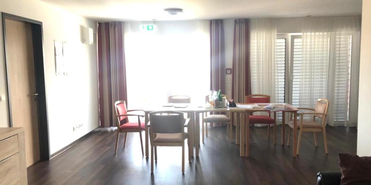 Gemeinschaftsraum Pflegeimmobilie Limburg Blumenrod