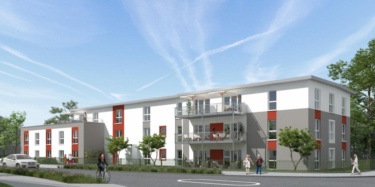Visualisierung Pflegeheim Limburg Blumenrod